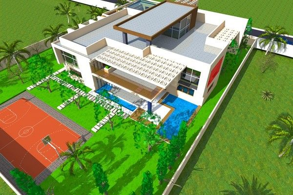 architecture et design moderne africain