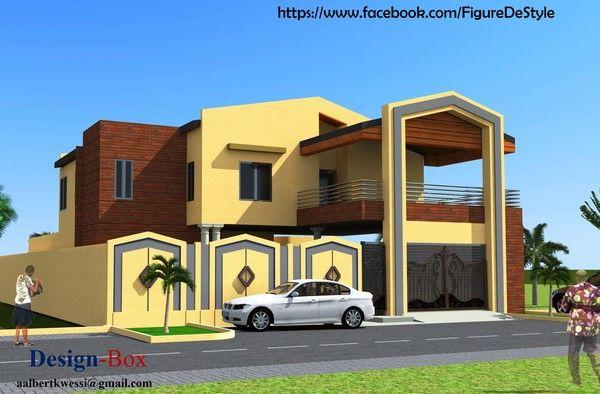 Architecture page 49 for Plan de maison africaine