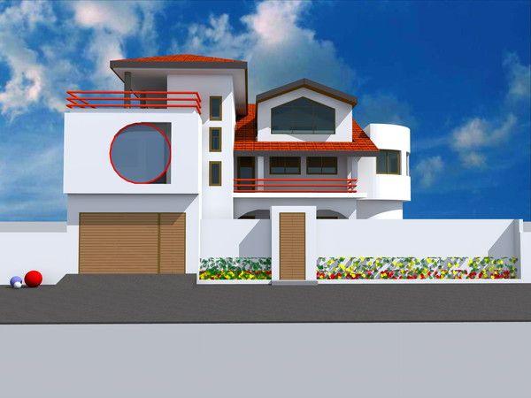 Projet de construction d 39 une villa a conakry en guinee for Architecture villa moderne gratuit