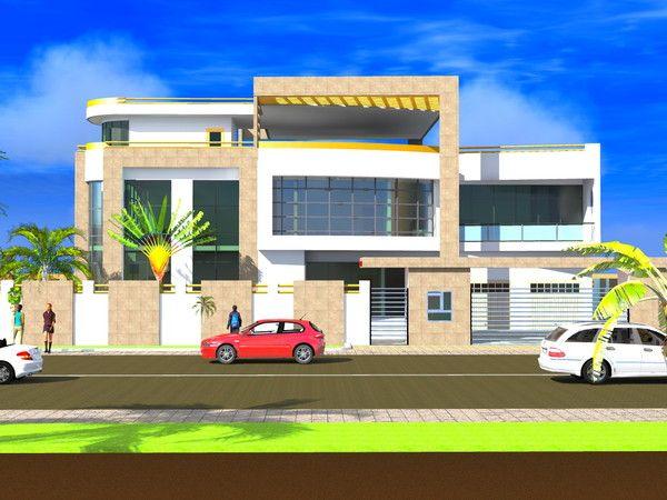 Projet de construction dun hotel a cotonou benin centerblog for Construction villa moderne