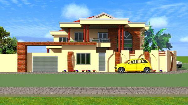architecture a dakar villa design plan dakar senegal. Black Bedroom Furniture Sets. Home Design Ideas