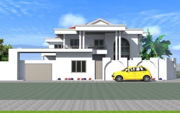 Architecture et design moderne africain page 21 for Construction villa moderne