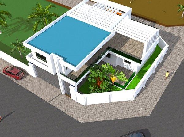 Projet de construction d 39 une villa a abidjan cote d 39 ivoire centerblog - Cabinet d architecture abidjan ...