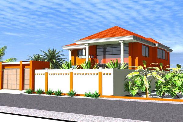 Guinee conakry villa proposal for Belle architecture villa
