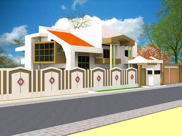 Projet de construction d 39 une villa a yaounde au cameroun for Projet de construction