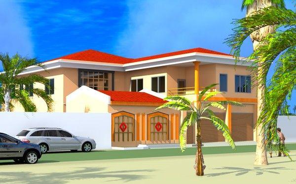 Projet d 39 extension d 39 une villa a ouagadougou burkina faso for Extension villa