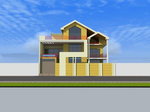 Projet de construction d 39 une villa a ouagadougou burkinafaso for Projet de construction