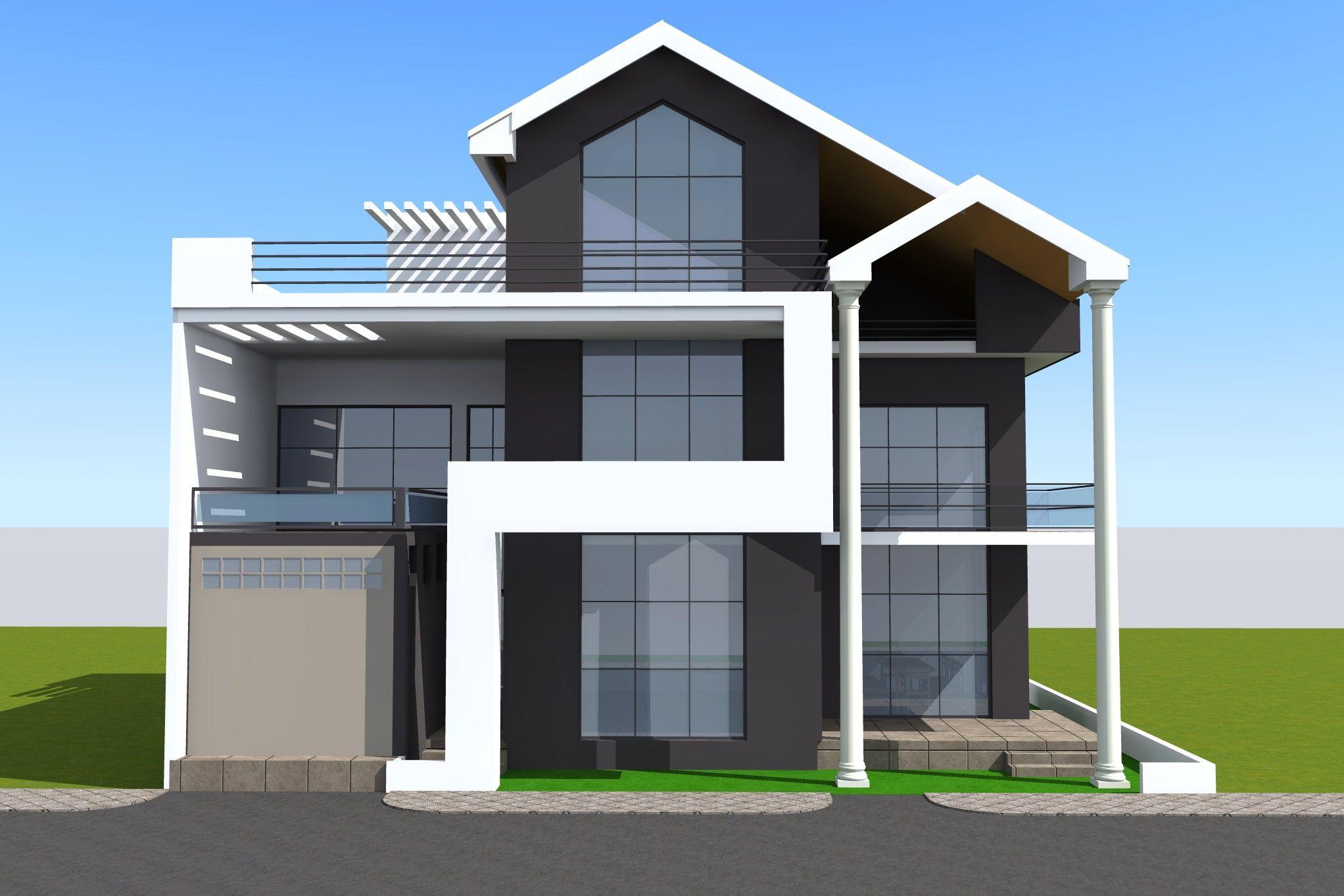Projet de construction d 39 une villa a lome au togo for Construction de villa