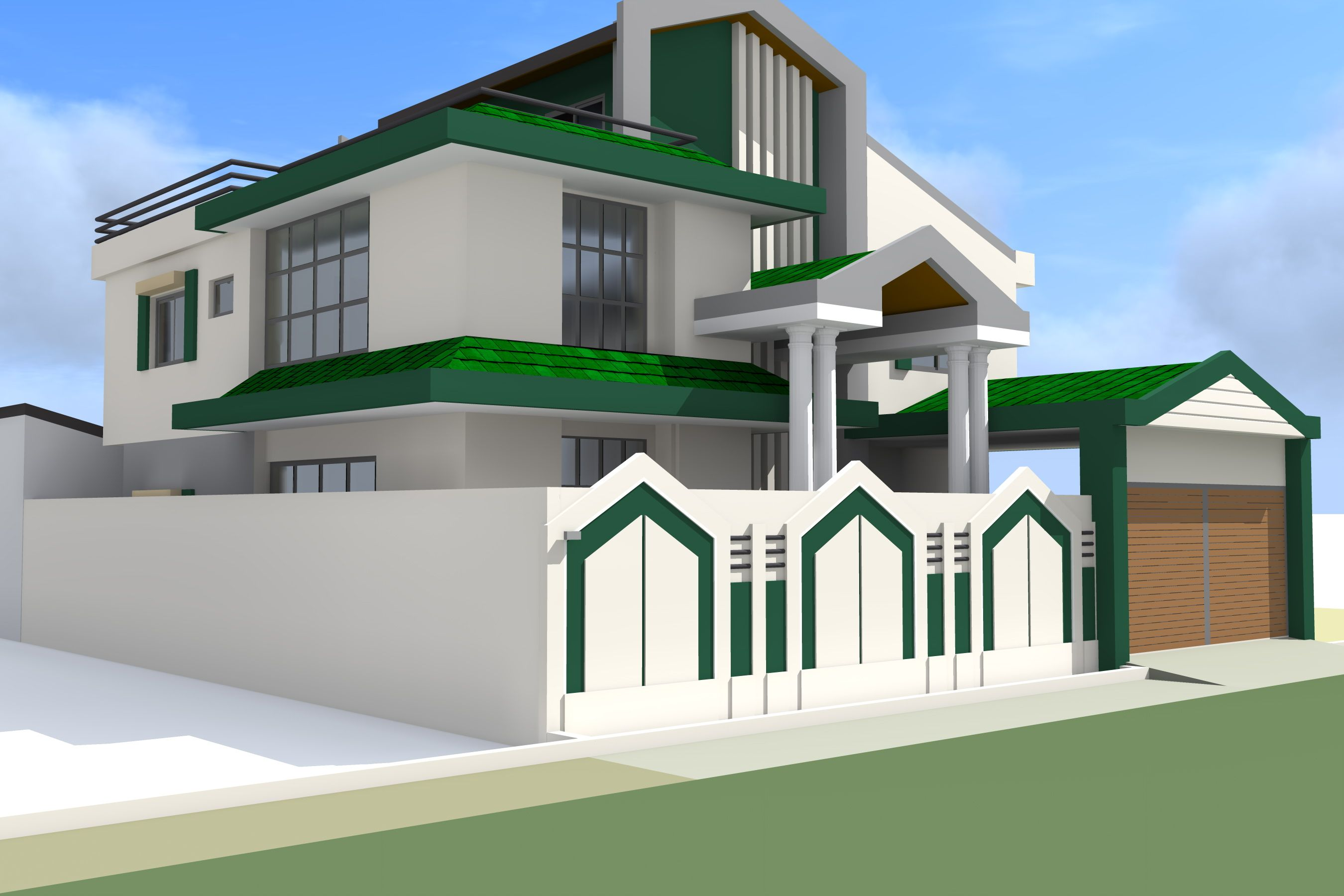 projet de construction d 39 une villa a conakry en guinee. Black Bedroom Furniture Sets. Home Design Ideas