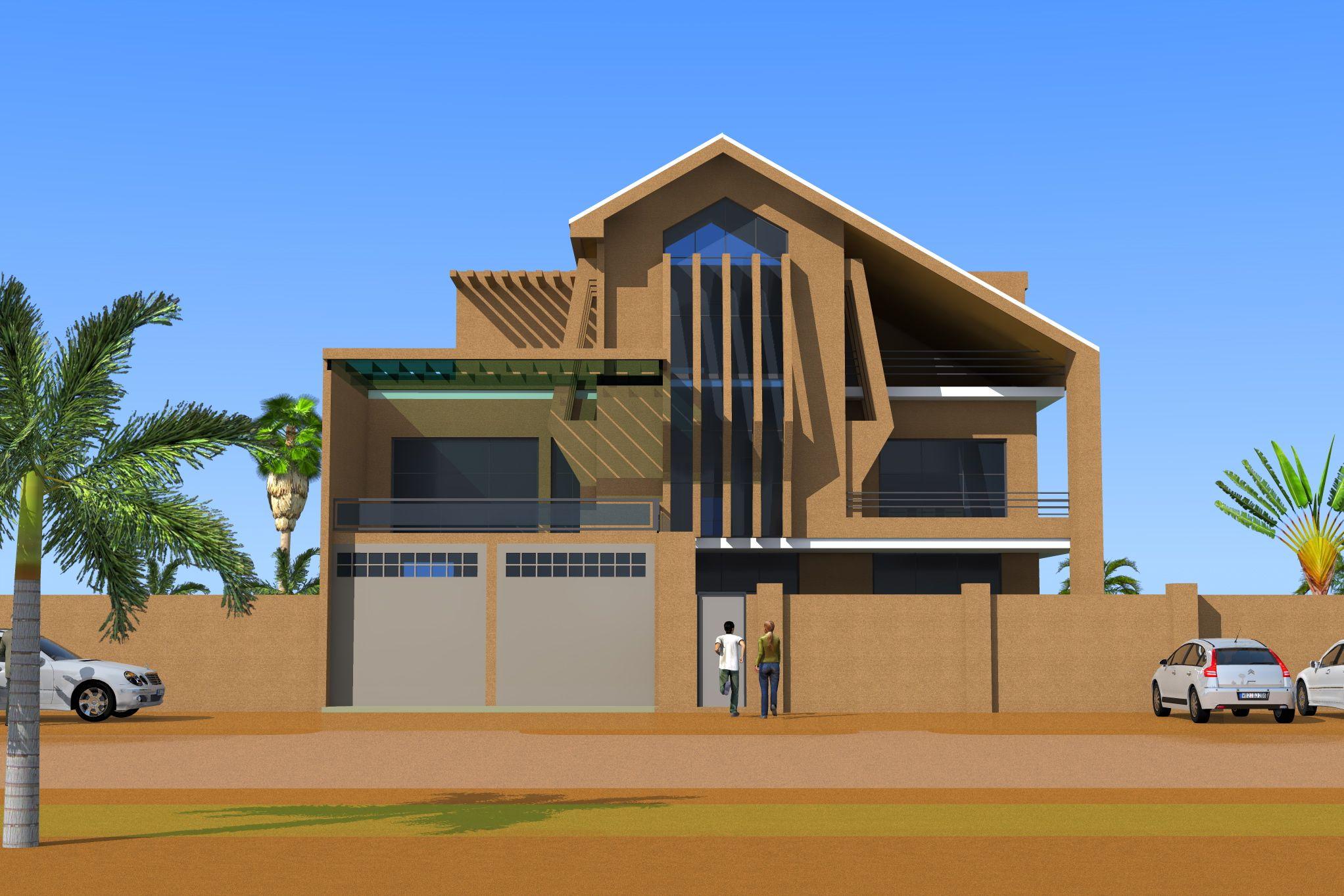 Projet de construction d 39 une villa a niamey au niger for Projet construction