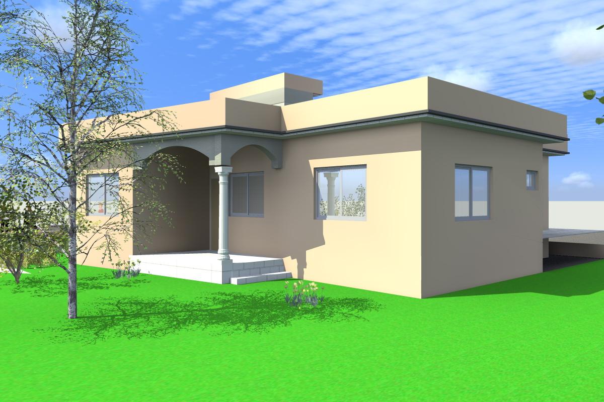 Projet de construction d 39 une villa a lome au togo for Projet de construction