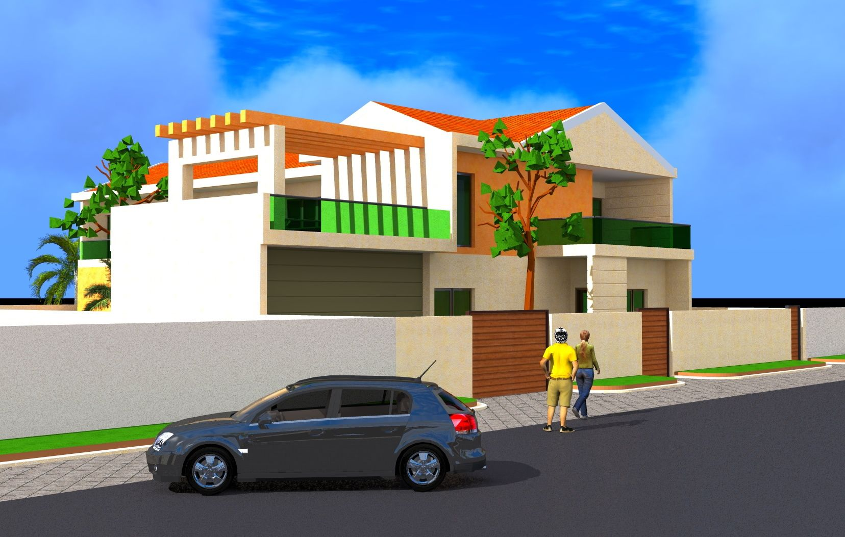Projet de construction d 39 une villamoderne a ouaga burkina for Projet de construction